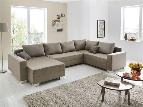 Wohnlandschaft U Form, 320x220/160cm Schlamm Couch Sofa