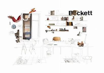 Collage Arquitectura Tag Dibujos Paisajes Oficina Plataforma