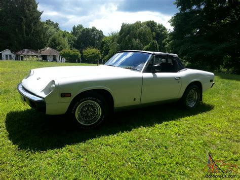 Convertible Similar To Triumph Tr7, Mgb, Tvr Or Fiat