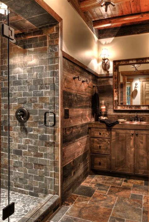 refined rustic bathroom designs   rustic home