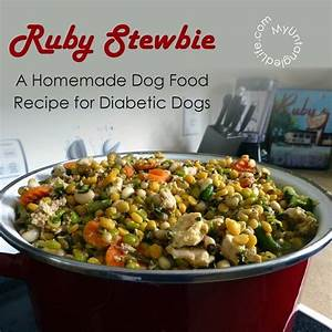 Ruby stewbie diabetic dog food recipe diabetic dog for Dog food for diabetic dogs