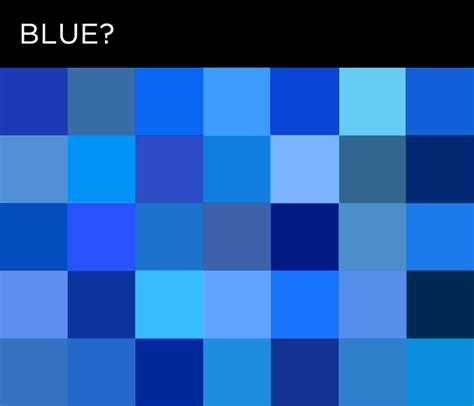 Every Shade Of Color by Which Color Blue Is It Language And Color Quot If You Said