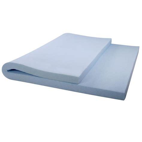 cool gel mattress cool gel memory foam mattress topper 8cm buy top