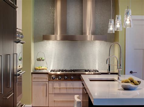 kitchen mirror backsplash modern kitchen backsplashes pictures ideas from hgtv hgtv