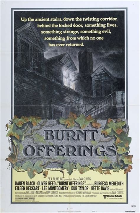 burnt offerings  review film summary  roger