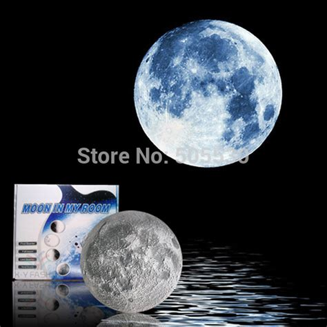 novelty moon l led healing light with remote control