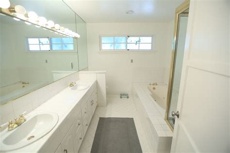Modern Bathroom Renovation by Master Bathroom Renovation Before After The