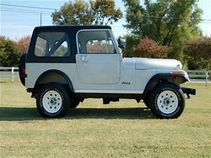 1982 Jeep Cj 4wd Cj7 66 218 Miles Silver Util 6 Cylinder