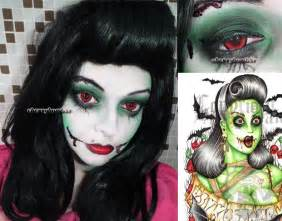 Cute Zombie Girl Makeup Halloween