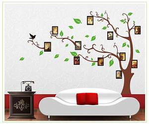 photo tree photo frame tree wall decals vinyl wall art With nice roommates wall decals canada