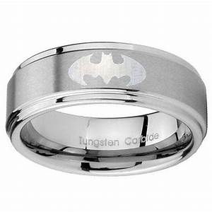 21 best images about mens wedding bands on pinterest for Mens batman wedding ring