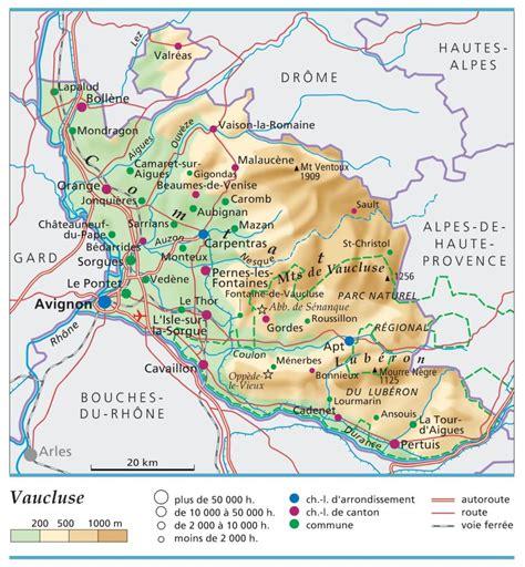 Carte De Avignon 84 by Vaucluse D 233 Partement 84 Voyages Cartes