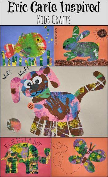 eric carle inspired craft  kids preschool art eric
