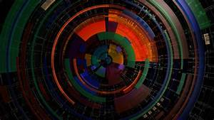 Circle, Symmetry, Digital, Art, Colorful, Lines, Abstract