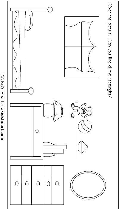 preschool rectangle activities preschool printable activity rectangles 675