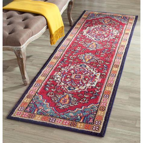 safavieh rug runners safavieh monaco turquoise 2 ft 2 in x 8 ft runner
