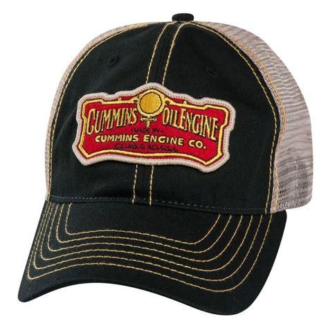 dodge ram cummins engine co diesel vintage trucker cap hat oil mesh ballcap ebay