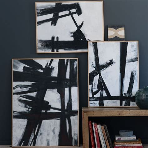 Abstract Black And White Wall by Black And White Abstract Anyone Can Paint