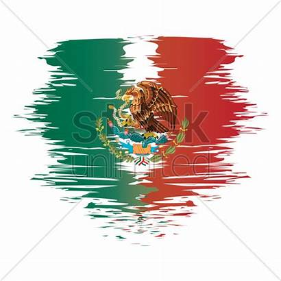 Flag Mexico Mexican Colors Graphic Stockunlimited Vectors