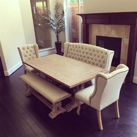 Settee Dining Set by Can T Wait To See How Jennsultan Decorates New Z