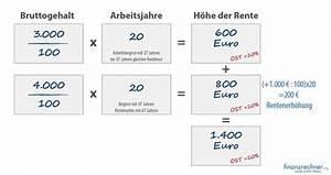 Gesetzliche Rente Berechnen : die eigene rente berechnen so gehts in 10 sekunden ~ Themetempest.com Abrechnung