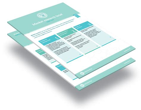 Marketing Research Brief Template by Template Market Research Brief B2b Marketing