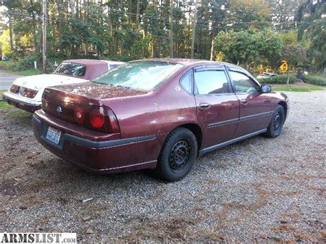 Armslist For Sale Trade Chevy Impala Xxx Miles