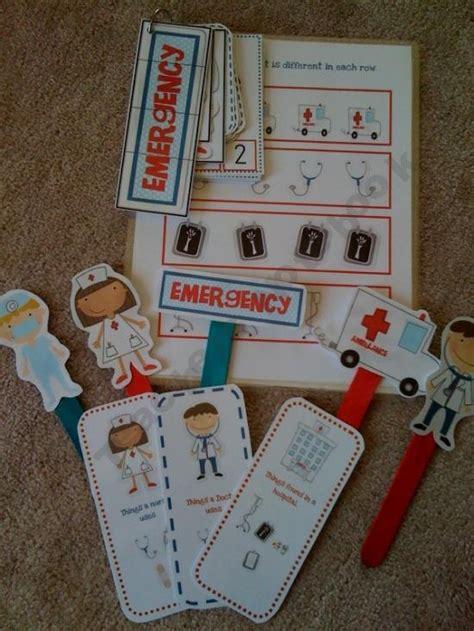 doctors printables community helpers unit in feb 126 | b4343798c44ca8ee246691b7dbdd54e7 preschool age preschool printables