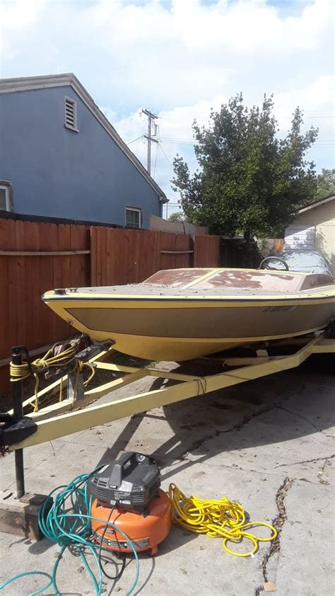 Used Boat Parts Stockton Ca by Boat And Trailer For Sale In Stockton Ca Offerup