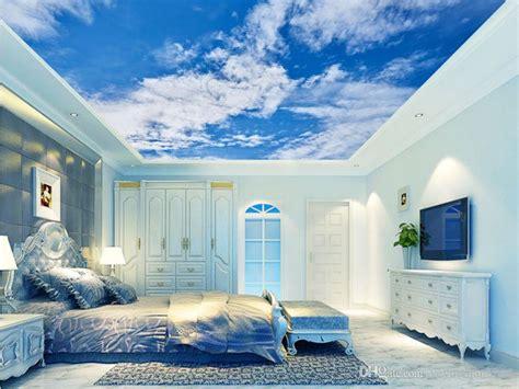 hd blue sky  white clouds photo wallpaper  sky