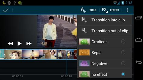 android video editor youtube