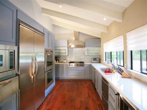 modern kitchen window treatments hgtv pictures ideas hgtv