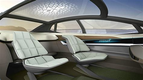Audi Aicon Concept Interior (high Tech Living Room On