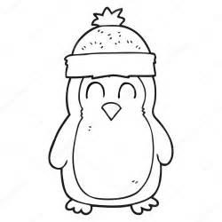 Dibujos: para colorear de pinguinos navideños Pingüino