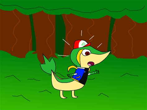 Toon fat fur and tf artist. Ash TF to Snivy by PikachuFan60 on DeviantArt