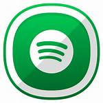 Spotify Icon Icons Social Designbolts Shaded