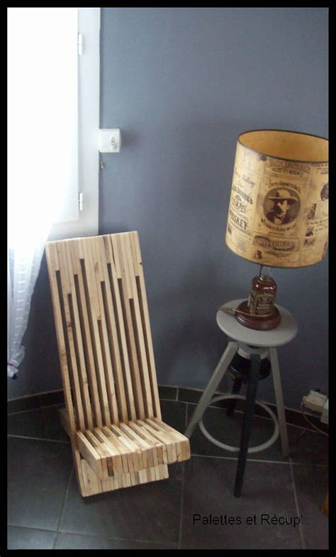 chaise palette stacked pallet wood modern chair chaise palabre en