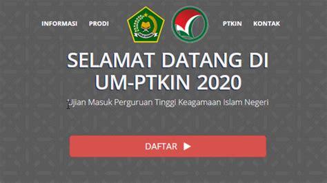 Data pada selasa (12/5/2020) sore. CARA DAFTAR UMPTKIN 2020 LENGKAP - YouTube