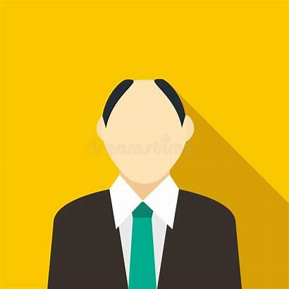 Receding Hairline Icon Male Suit Illustrations Clipart