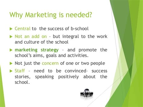 marketing school marketing strategy for a business school