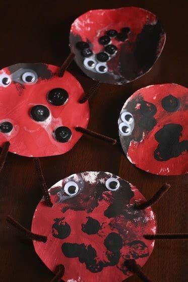 ladybug craft  toddlers happy hooligans