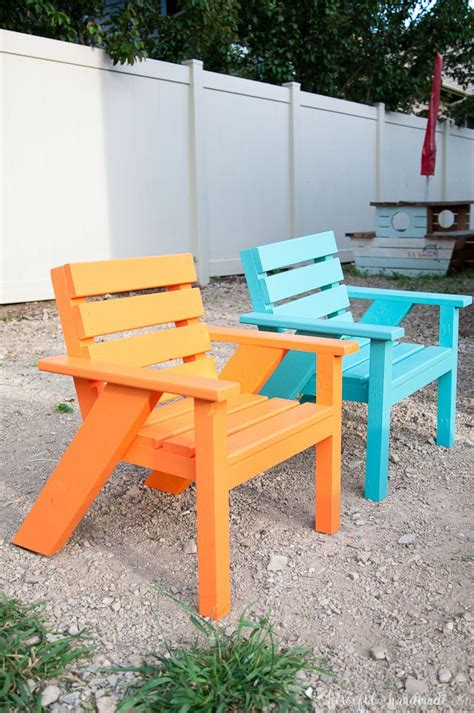 Easy Patio Diy by 28 Diy Outdoor Furniture Projects To Get Ready For
