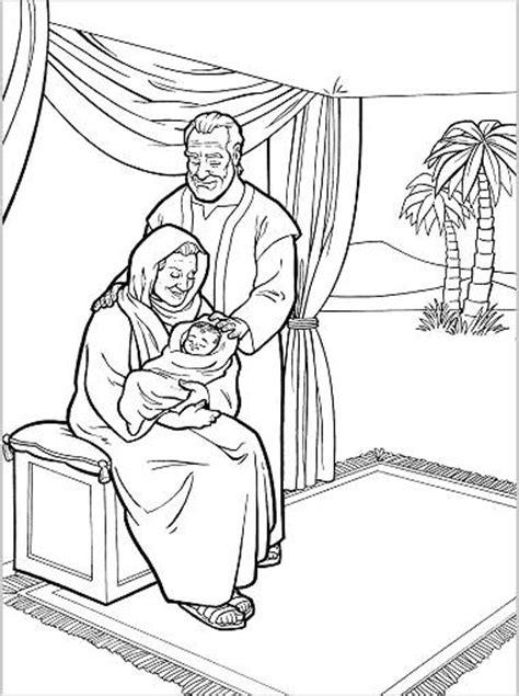 Kleurplaat Abraham Op Reis by Abrahamen Sarai Hebben Een Kindje Gekregen Isa 228 K