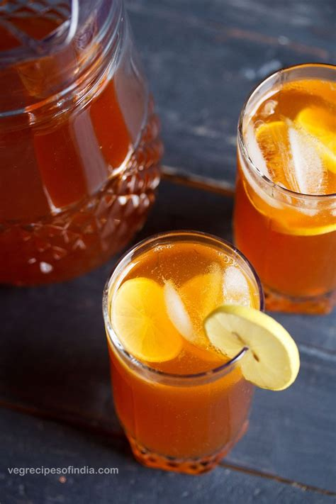 tea recipe lemon iced tea recipe how to make lemon ice tea easy lemon iced tea