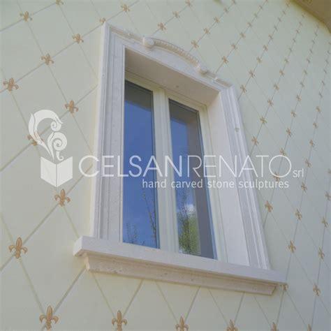 cornici finestre realizzazione cornici per porte e finestre in pietra di