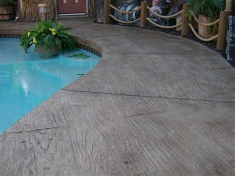 resurface aggregate pool deck pool deck wood design sted concrete overlay yelp