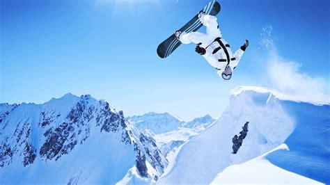 Extreme snow snowboarding sports Winter landscapes man ...