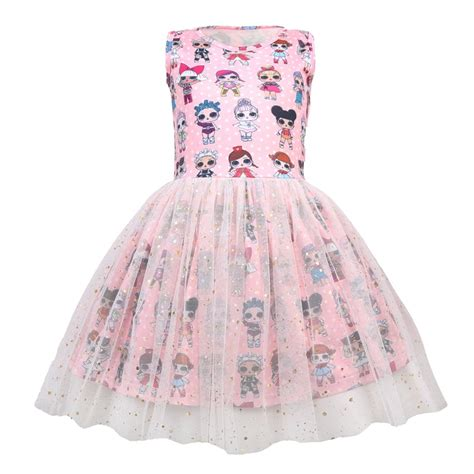 girls lol surprise doll princess dress party pageant