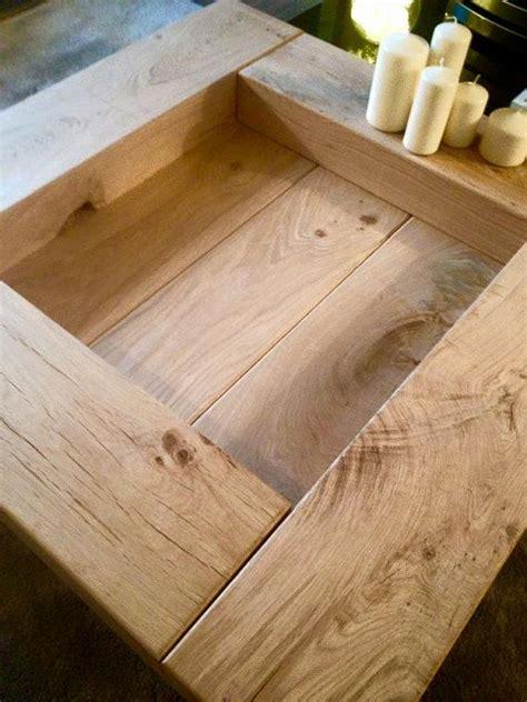 oak sleeper coffee table wooden coffee table table wood