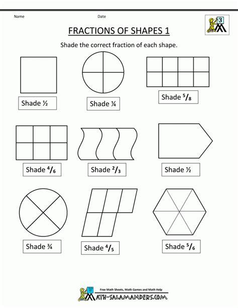 fraction worksheet for 2nd grade worksheet mogenk paper works